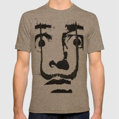 I am drugs ( Salvador Dali ) Mens Fitted Tee Tri-Coffee SMALL