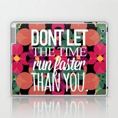 FLOWER TIME Laptop & iPad Skin