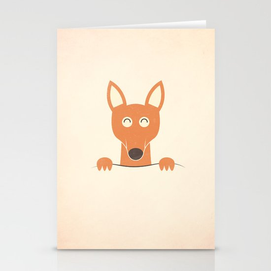 Pocket Kangaroo Stationery Card
