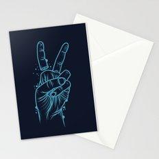 False Peace Stationery Cards