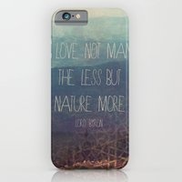 iPhone & iPod Case featuring Nature More  by Silent K Design