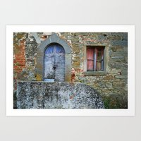 Old House In Italy Art Print