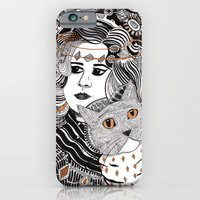 Capable Cat iPhone 6 Slim Case