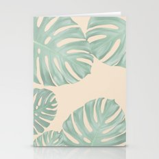 Monstera Suara Stationery Cards