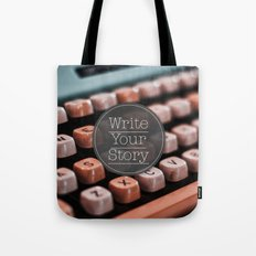 Write Your Story Tote Bag