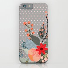 Flowers bouquet #8 iPhone 6 Slim Case