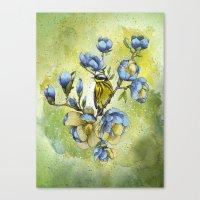 Magnolia Blues Canvas Print