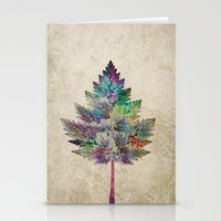 city Stationery Cards featuring Like a Tree 2. version by Klara Acel