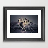 The Embalmed Pony Show Framed Art Print