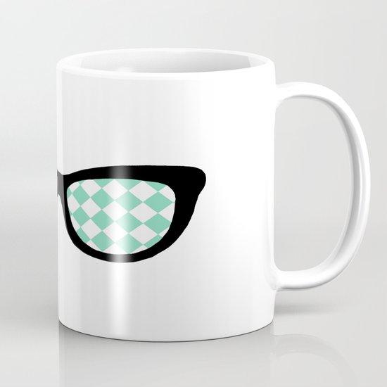 Mint Diamond Eyes Mug