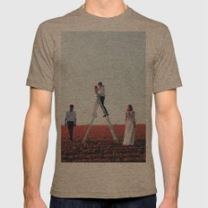Untried love Mens Fitted Tee Tri-Coffee SMALL