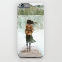 Girl on the pier iPhone 6 Slim Case