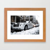 Drophead Coupe Framed Art Print