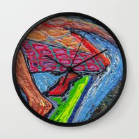 Tasty Waves Wall Clock