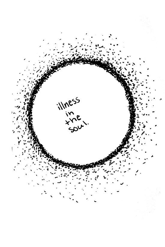 Illness Of The Soul Art Print