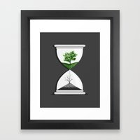 We Are Drying Out Framed Art Print