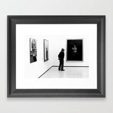old boy. Framed Art Print