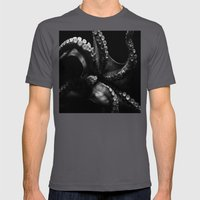 Octopus Mens Fitted Tee Asphalt SMALL