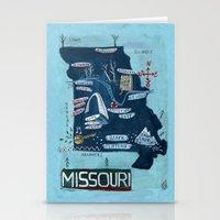 MISSOURI Stationery Cards