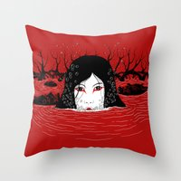Oni Throw Pillow