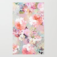 Rug featuring Love Of A Flower by Girly Trend