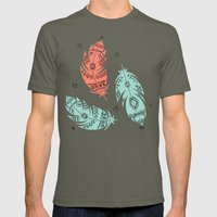 Feathers Mens Fitted Tee Lieutenant SMALL