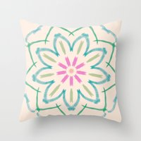 One By One Throw Pillow
