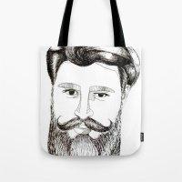 LOVELY BEARD Tote Bag