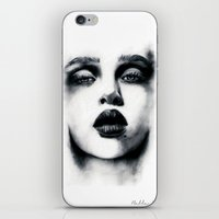 Charcoal  iPhone & iPod Skin