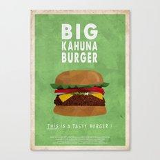 Pulp Fiction - big kahuna burger Canvas Print