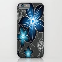 Cobalt And Charcoal iPhone 6 Slim Case