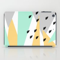 Mod Triangles With Brush… iPad Case