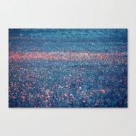 Pink Lawn Canvas Print