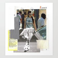Football Fashion #17 Art Print