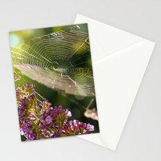 Buddleja and Web Stationery Cards