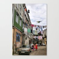 Laundry service Canvas Print