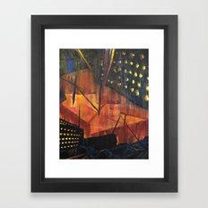 Void secondary Framed Art Print