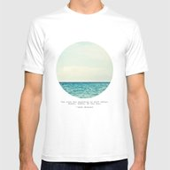 Salt Water Cure Mens Fitted Tee White LARGE