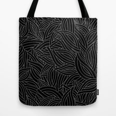 My black leaves Tote Bag