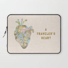 A Traveler's Heart Laptop Sleeve