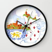 January Wall Clock