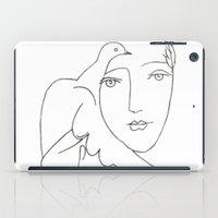 Face - Dove iPad Case