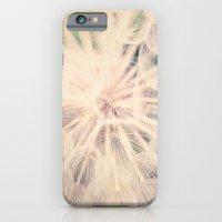 iPhone & iPod Case featuring Macro Dandelion by Pretty Petal Studio