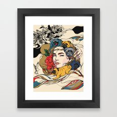 Let My Baby Stay Framed Art Print