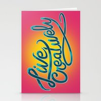 Live Creatively! Stationery Cards