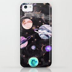 Marble Galaxy iPhone 5c Slim Case