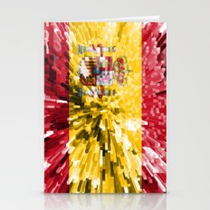 Spain Flag - Extrude Stationery Cards
