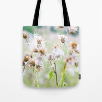 Pastel Greens Tote Bag