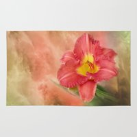Beautiful Day Lily Rug