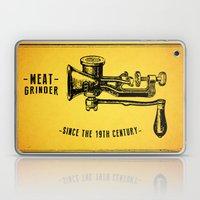 Meat Grinder Laptop & iPad Skin